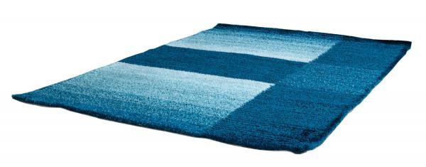 Modern Design Teppich AVENA blau