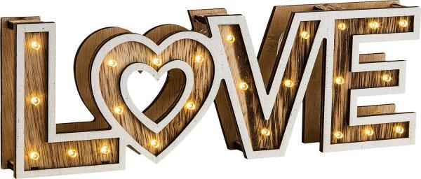 LED-Dekoaufsteller LOVE