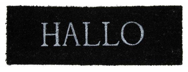 Fußmatte HALLO 2