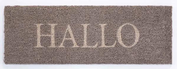 Fußmatte HALLO 1